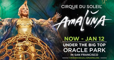 "Cirque du Soleil's ""Amaluna"" San Francisco"