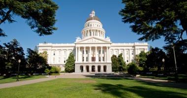 California State Capital in Sacramento.