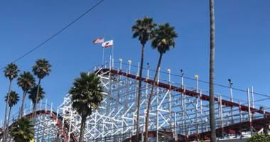 The Giant Dipper roller coaster in Santa Cruz is celebrating its 95th anniversary in 2019.