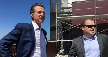Gov. Gavin Newsom rebutted comments from President Trump that problems in San Francisco and Los Angeles were caused by liberals.