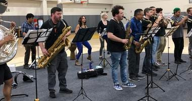 The Golden State Warriors started their new season with the debut of their pep band in 2019.