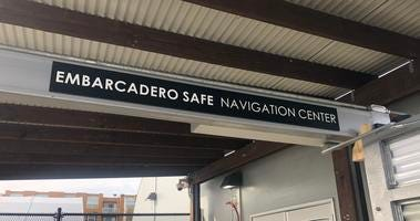 The Embarcadero Safe Navigation Center was set to open by the end of December 2019 along San Francisco's waterfront despite neighborhood opposition.