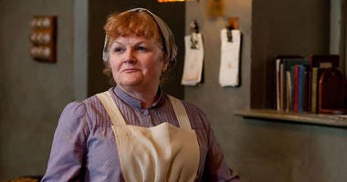 "Lesley Nicol as ""Mrs. Patmore"" of ""Downton Abbey'"