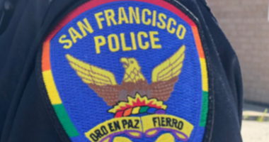 San Francisco Police Department Pride Patch June, 2019