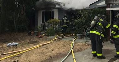One person died in a house fire in San Jose on Greenmoor Drive on Aug. 5, 2019.