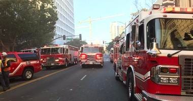 One person died in a fire possibly started by an arsonist in San Jose on Sept. 16, 2019.