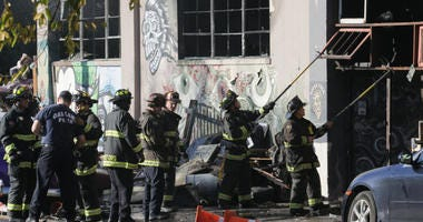 Oakland Firefighters Ghost Ship Warehouse