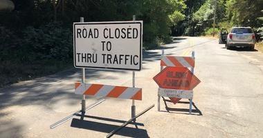 Major roads still closed months after Guerneville flood