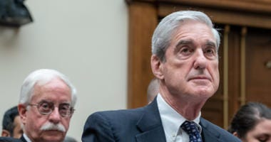 Federal Bureau of Investigation (FBI) Director Robert Mueller testifies during a hearing before the House Judiciary Committee on Capitol Hill on Wednesday July 24, 2019 in Washington, DC.