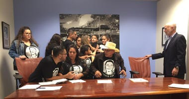 Family of Teodoro Valencia Jr. announce settlement with city of Newark, police