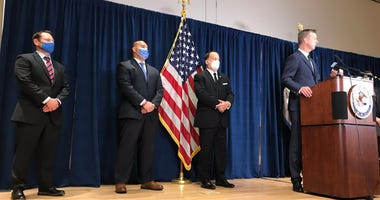 Federal investigators announce murder charges in death of federal agent Pat Underwood