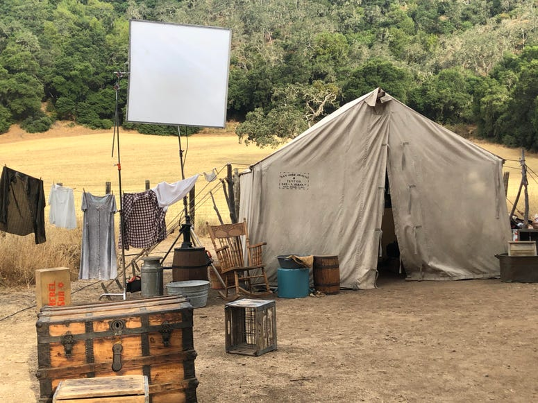 Students and alumni from San Jose State's film program were involved in adaptation of a John Steinbeck story about migrants into a short film on Aug. 9, 2019.