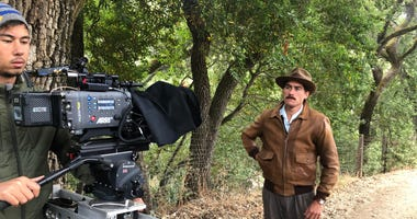 """A scene from John Steinbeck's great work """"The Grapes Of Wrath"""" was recreated by San Jose State film students in a short filmed on Aug. 9, 2019."""