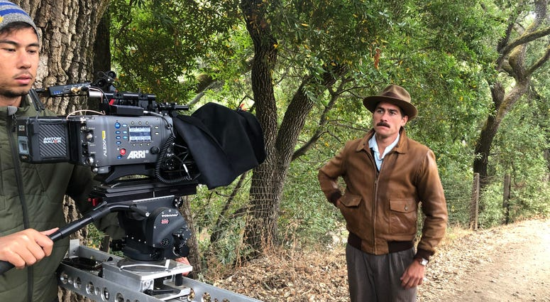 "A scene from John Steinbeck's great work ""The Grapes Of Wrath"" was recreated by San Jose State film students in a short filmed on Aug. 9, 2019."
