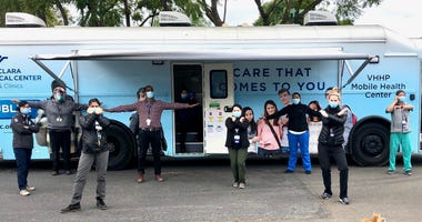 Valley Medical Center's mobile healthcare unit provides services to homeless
