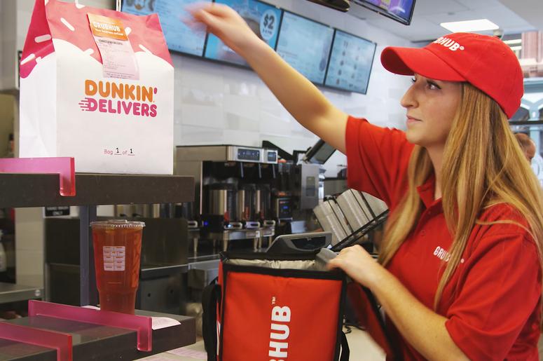 Dunkin Delivers
