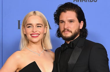Emilia Clarke, Kit Harington