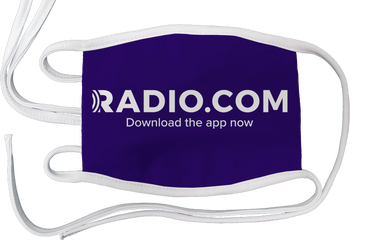 RADIO.COM Face Mask