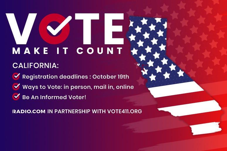 Vote 411 California
