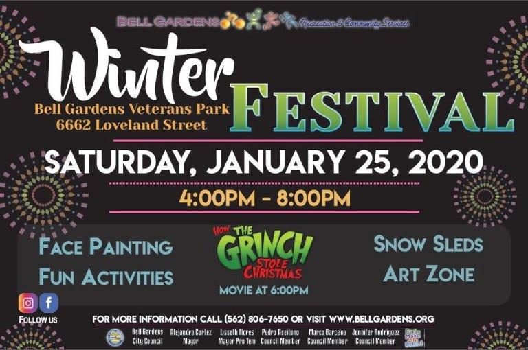 Winter Festival - Bell Gardens
