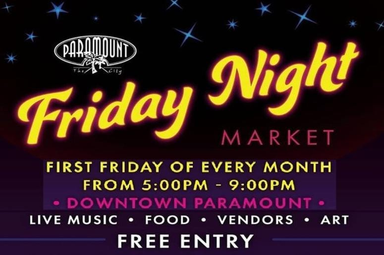 Paramount Friday Night Market