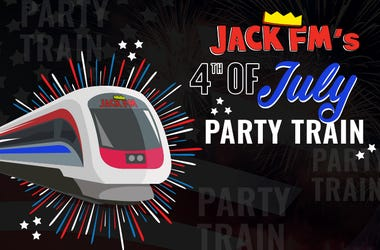 Jack FM 4th of July Party Train