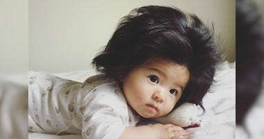 'Baby Chanco' Shows Off Full Head of Hair at Just Six-Months-Old