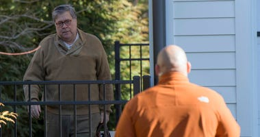 Attorney General William Barr spent Saturday reviewing the special counsel's confidential report on the Trump-Russia investigation