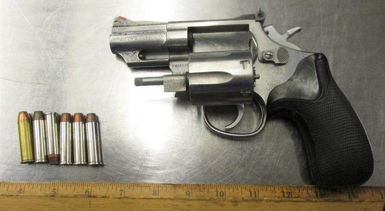 Gun stopped by TSA on January 23, 2020