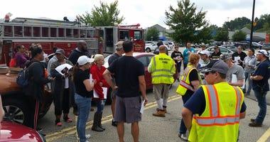 Firefighters, Volunteers prepare to search for Nalani Johnson near Delmont
