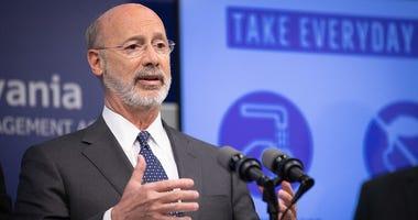 Pennsylvania Governor Tom Wolf speaks about COVID-19 / Coronavirus
