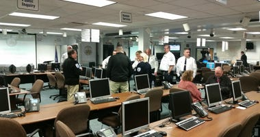 9-1-1 call takers and dispatchers at the Allegheny County Emergency Operations Center in Point Breeze are talking about the first calls they received from victims of the Tree of Life Synagogue shootings Saturday.