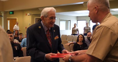 93-Year-Old Marine Finally Receives Sergeant Promotion After 73-Years