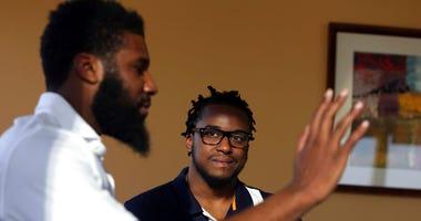 Rashon Nelson, left, and Donte Robinson