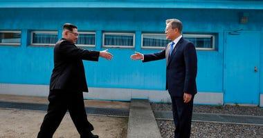 North and South Korean Leaders meet