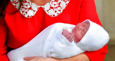 Louis Arthur Charles, newborn son of Britain's Prince William and Kate, Duchess of Cambridge