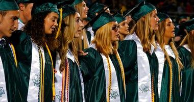 Santa Fe High School graduation ceremony