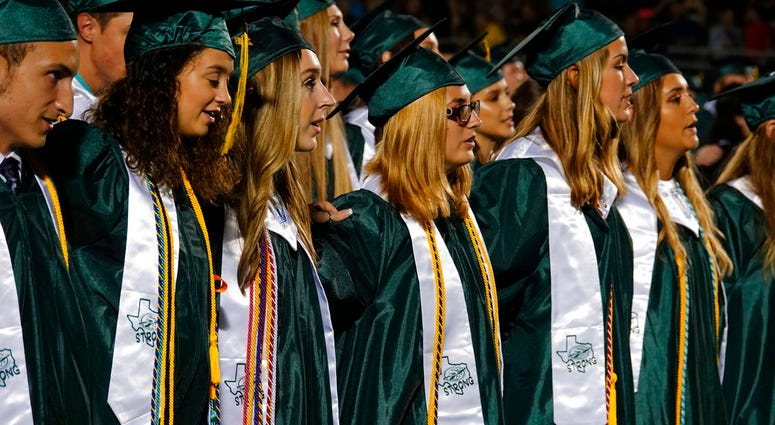 Santa Fe High School graduation ceremony