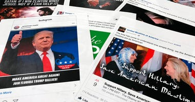 Some of the Facebook and Instagram ads linked to a Russian effort to disrupt the American political process