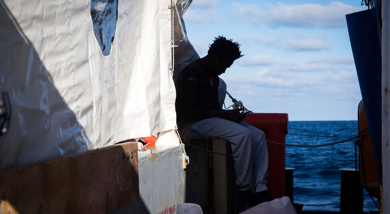 Over 30 migrants saved in the central Mediterranean sea by the German no-profit rescue organization Sea-Watch are still stranded after five days at sea, because no European country is opening its ports to receive them