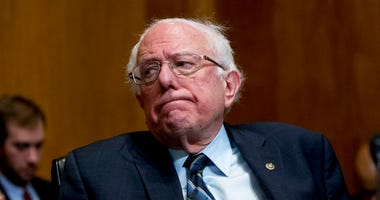 en. Bernie Sanders, I-Vt., attends a hearing on Capitol Hill in Washington