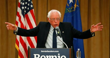 Democratic presidential candidate Sen. Bernie Sanders, I-Vt., speaks at a campaign event Thursday, May 30, 2019, in Henderson, Nev.