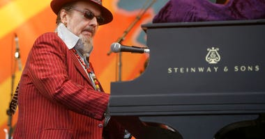 Dr. John performs during the 2008 New Orleans Jazz & Heritage Festival in New Orleans