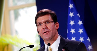 U.S. Defense Secretary Mark Esper