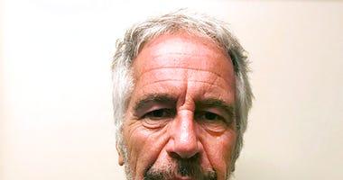 New York State Sex Offender Registry, shows Jeffrey Epstein