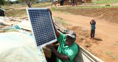 Zimbabwe solar panels