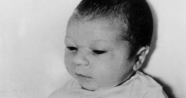 Paul Joseph Fronczak shortly after his birth at Michael Reese Hospital in Chicago. The baby was taken from his mother's arms by a woman dressed as a nurse who told her he needed a medical exam and then never returned him to the nursery.