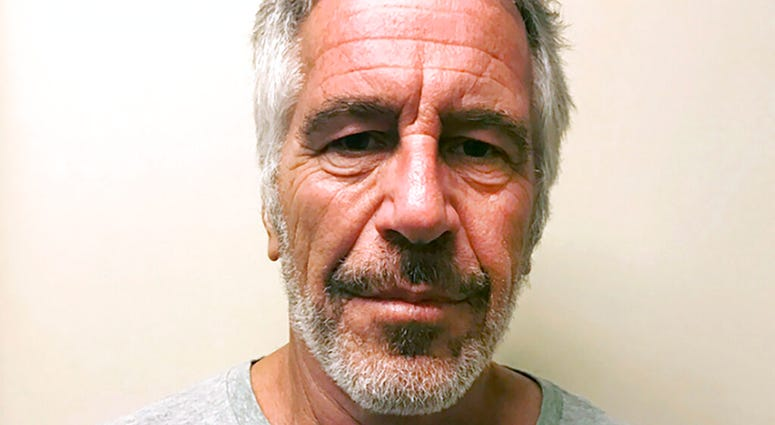 provided by the New York State Sex Offender Registry, shows Jeffrey Epstein. Federal prosecutors said Thursday Jan. 9, 2020, that jailhouse video no longer exists of the area around Jeffrey Epstein's jail cell on a day he survived an apparent suicide atte