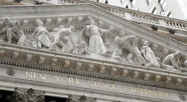 New York Stock Exchange in New York.