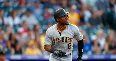 Pittsburgh Pirates center fielder Starling Marte